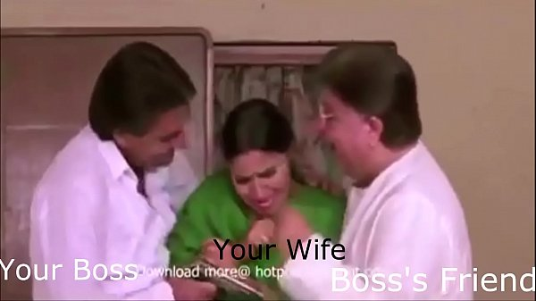 Indian wife, Friends, Boss, Wife forced, Force indian, Boss wife