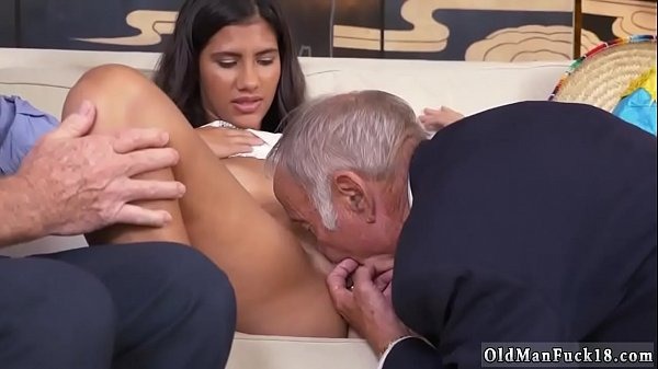 Old man, Young anal, Old and young, Young old, Border