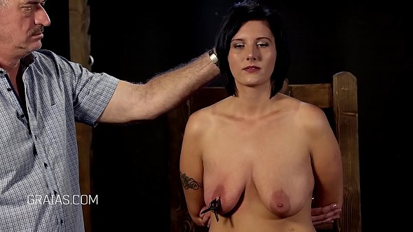 Big tits, Caned, Big nipple, Caning, Big nipples