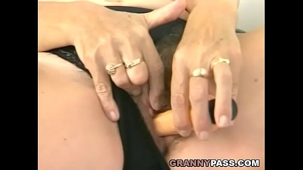 Grandma, Young cock, Huge cock, Hairy young, Hairy cock