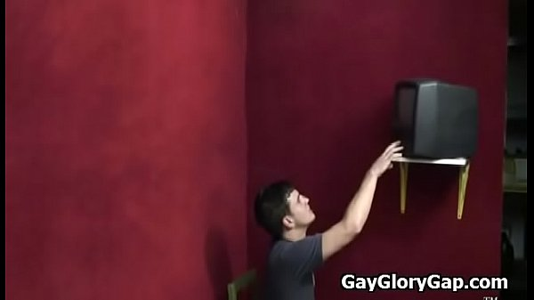 Gloryhole, Gay interracial