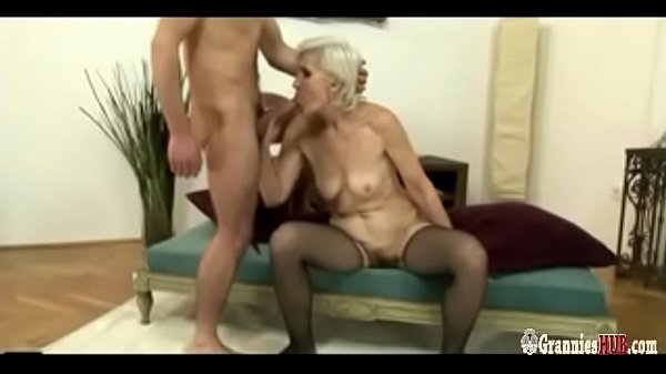 Granny, Hairy young, Hairy cock