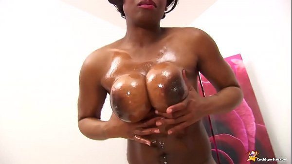 Oiled, Black milf