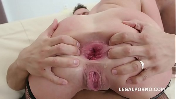 Double penetration, Double anal, Brittany