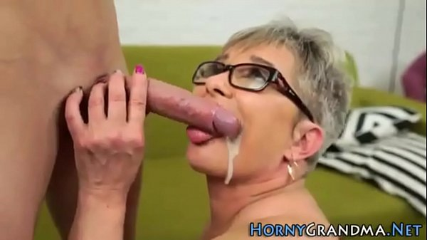 Granny, Compilation, Mouth cum, Grannies