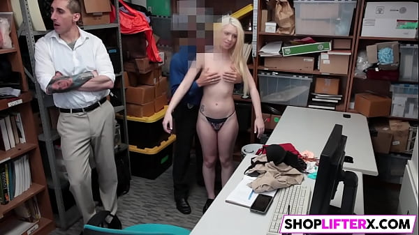 Shoplifter, Daughter, Daughter caught, Dad and daughter