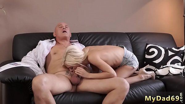 Blonde, Old young fucking, Old fuck young, Old & young, Horny man, Breeding
