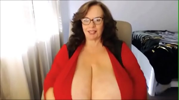 Brunette, Webcam milf, Huge boobs