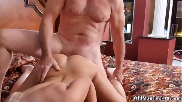 Young anal, Old and young, Home alone