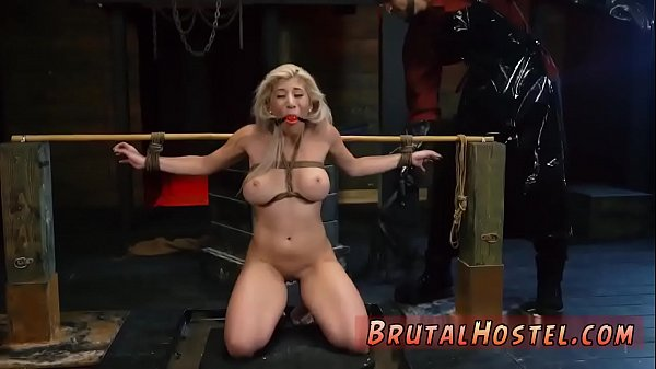 Pain, Painful anal, Blonde, Pain anal, Breast, Painful