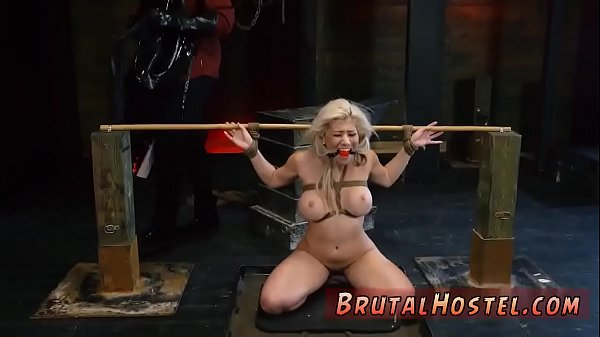 Blonde, Painful anal, Pain anal, Pain, Breast, Painful