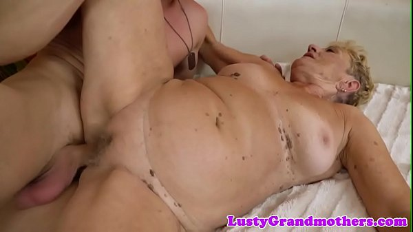 Granny, Saggy, Saggy fuck, Hairy pussy fucked